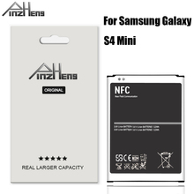 2019 PINZHENG Original B500BE Battery For Samsung Galaxy S4 Mini I9190 I9192 I9195 I9198 1900mAh Replacement Batteries