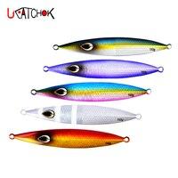 3pcs 150g/200g Luminous Slow Casting Jig Saltwater Metal Jigging Fishing Lure Lead Fish Spoon Lure Vertical Jigging Bait