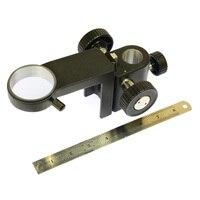 50mm 25mm Einstellbare Zoom Fokus Halterung Einzylinder Digital Mikroskop Fokus unterstützung Halter für industrielle kamera XDC 10A|Mikroskopteile und -zubehör|Werkzeug -