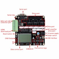 Digital Main Control Board For MAX262 ADS1256 DAC902 AD7606 DAC8552 RS232 Module