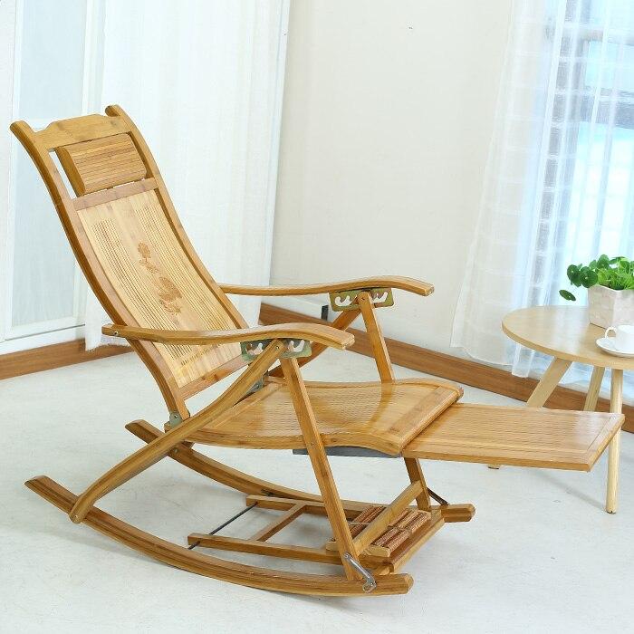대나무 대나무 흔들 의자 안락 의자 행복 레저 발코니 무료 설치 ...
