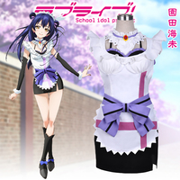 Anime LOVE LIVE Sonoda Umi Cosplay Costumes Female French Maid Lolita Apron Dress Party Costumes for Women
