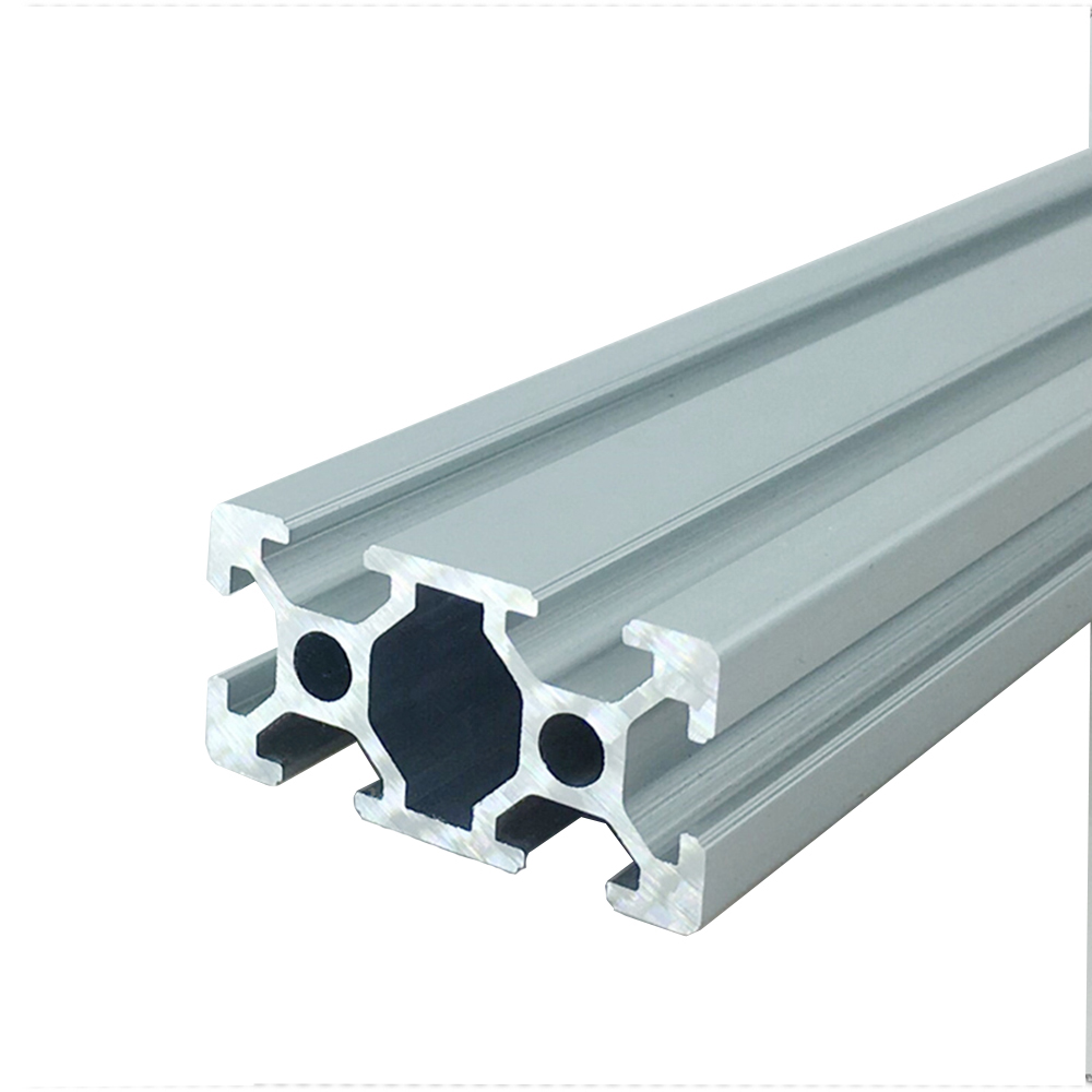 4Pcs 100mm to 500mm European Standard Linear Rail anodized Aluminum Profile <font><b>Extrusion</b></font> 3D Printer Parts <font><b>2040</b></font> for DIY Workbench image