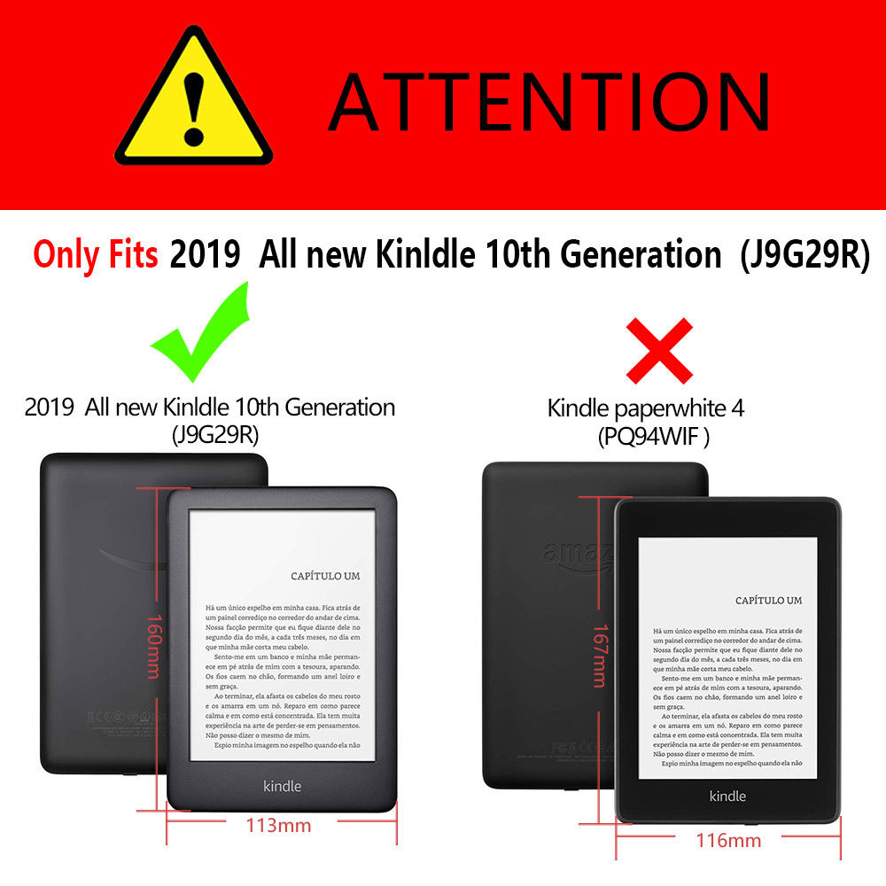 🛒 For 2019 Amazon All New Kindle Touch 10th Generation E reader