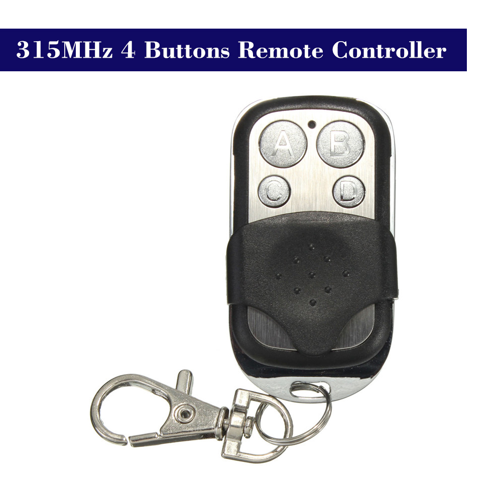 315MHz Copy Cloning Duplicator Remote Control Transmitter Switch for Garage Opener Electric Garage Door Remote Control Key Fob universal cloning cloner 433mhz electric gate garage door remote control key fob
