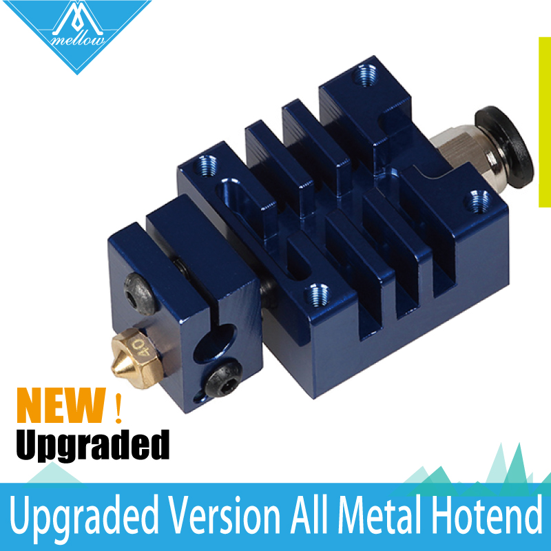 NEW!All-metal high-end Blue V6 Long distance J-head Hotend for 1.75mm Extruder 0.4 Nozzle for 3D Printer soaringe 3d printer assembled all metal long distance j head for bowden extruder 0 4mm x 3mm