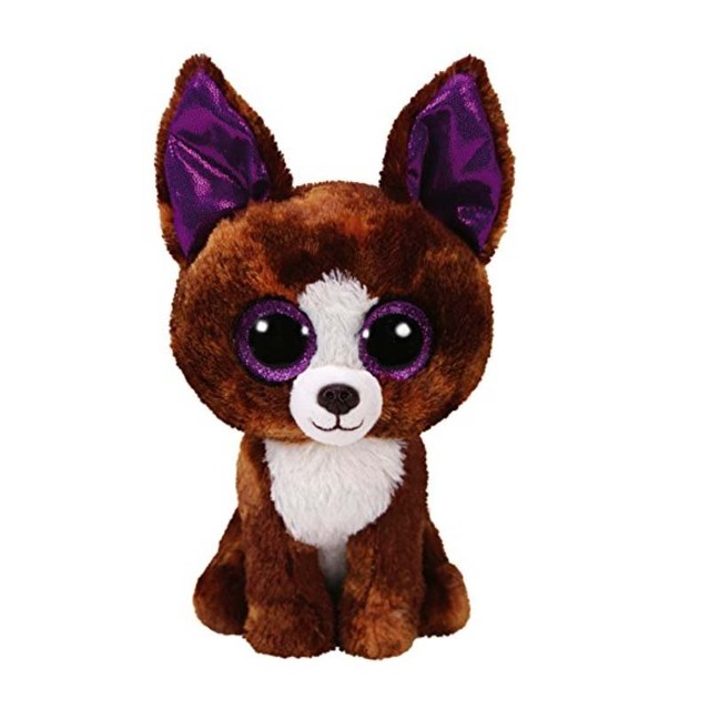 Ty Beanie Boos 6   15cm Dexter the Chihuahua Plush Regular Big-eyed Stuffed  Animal Collection Dog Doll Toy d1c7f746a5a7