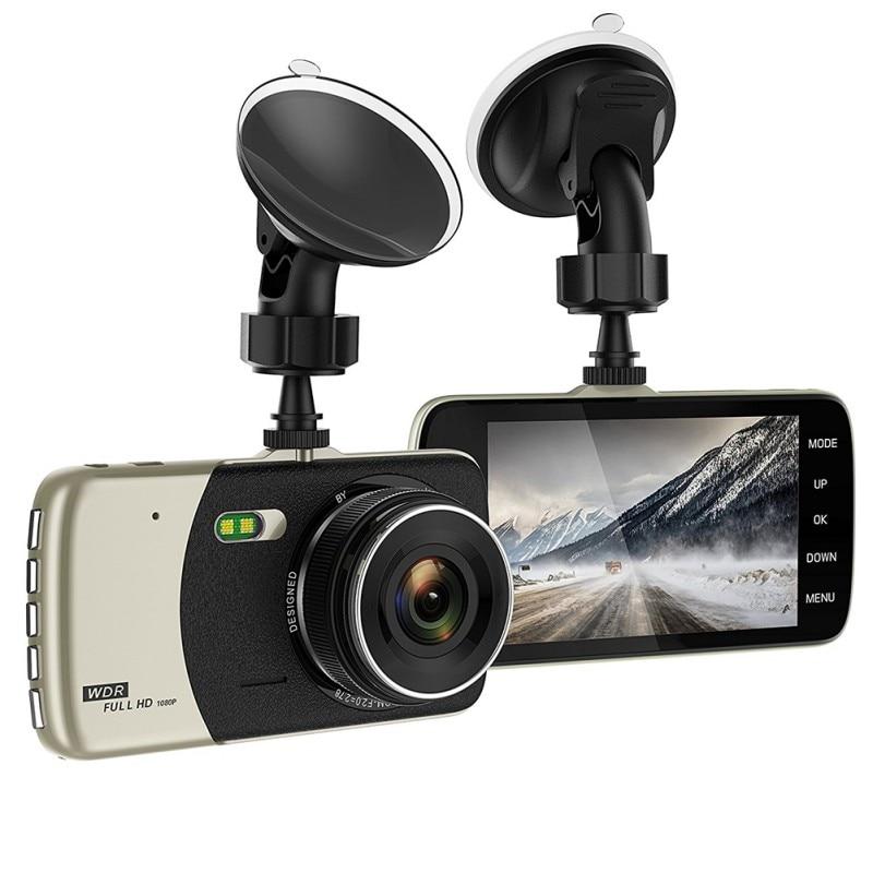 Car DVR Dash Camera Full HD 1080P Video 170 Degree 4.0 Inch IPS Screen Car Camera Dash Cam Car Electronics
