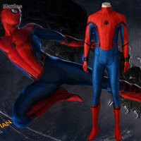 Spider Man Homecoming Cosplay Costume Superhero Spider Man Jumpsuit Halloween Clothes Adult Men Outfit Spiderman Carnival