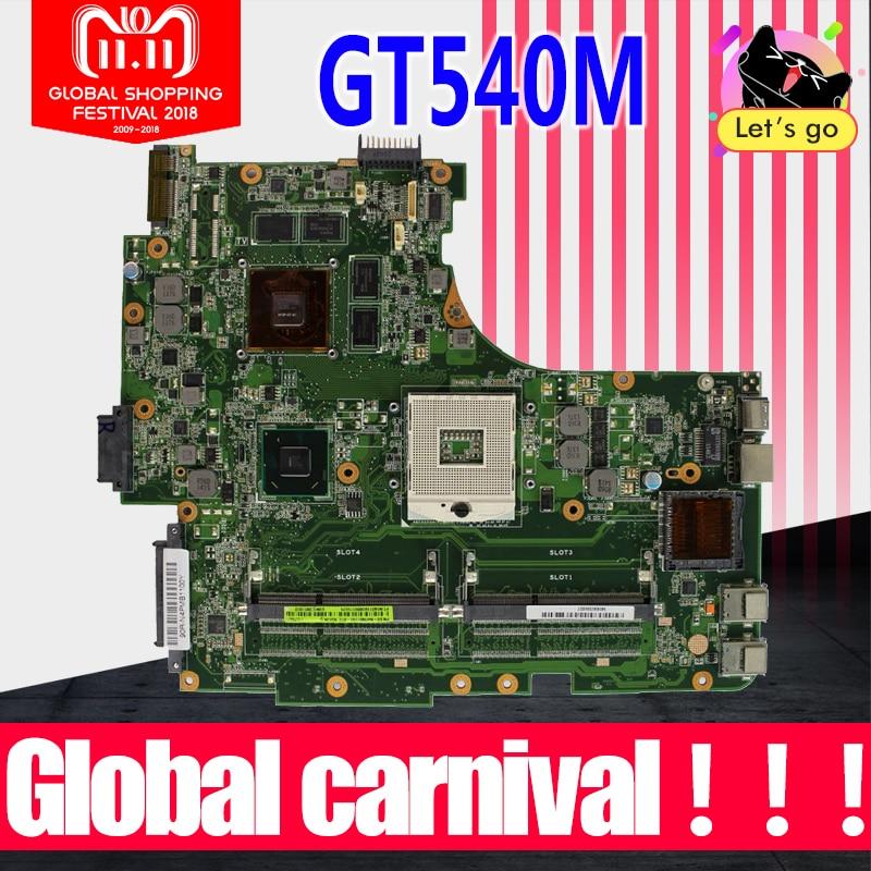 N53SV Motherboard REV: 2,2 GT540M RAM Für ASUS N53S N53SV N53SN N53SM laptop Motherboard N53SV Mainboard N53SV Motherboard 100% OK
