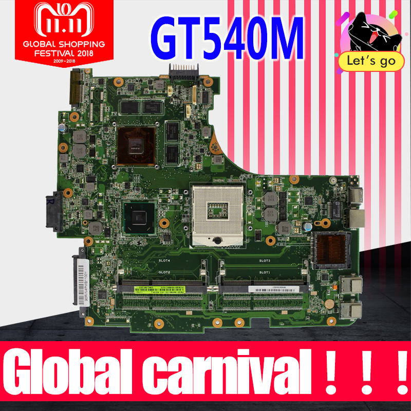 N53SV Motherboard REV:2.2 GT540M RAM For ASUS N53S N53SV N53SN N53SM laptop Motherboard N53SV Mainboard N53SV Motherboard 100%OK laptop motherboard n53sv n53sn for asus n53s n53sn n53sm with geforce gt550m 2g ddr3 4 ram solts rev2 0 2 2 tested ok