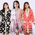 17 styles New Autumn/Winter flannel Bathrobe sleepwear sets warm thickening Long sleeve Nightgowns (Bathrobes + Sling skirt)