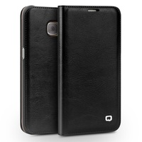 Phone Cases For Samsung S7 Case QIALINO Genuine Cowhide Leather Case Cover For Samsung Galaxy S7