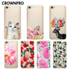 "CROWNPRO Soft TPU 5.5"" Xiaomi Redmi Note 5A Case Cover Painted Phone Back Protective Silicone Xiaomi Redmi Note 5A PRO Case Skin"