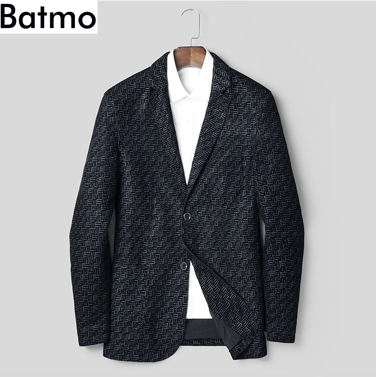 BATMO Jackets Sheepskin Genuine-Leather Autumn 1806Z Men Men's High-Quality