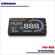 Liislee For KIA Forte / Soul 2015 2016 OBD2 Overspeed Warning Car Head Up Display Saft Driving Screen Projector – Reflecting