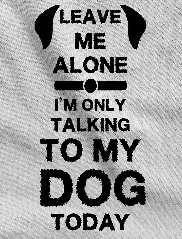 Design t shirt murah - Murah T Shirt Desain Pendek Crew Leher Tinggalkan Aku Sendiri Aku Only Berbicara Untuk Saya Hari