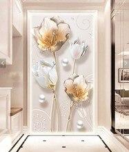 Цветок тюльпан картина, вышитая бисером рукоделие 5D Diamond вышивка круглый смола diamond Фото Мозаика религиозная картина