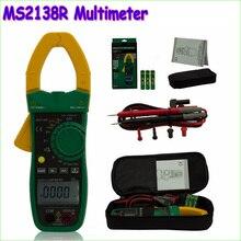 1 шт. MASTECH MS2138R 4000 Графы Digital AC DC Токоизмерительные Мультиметр Напряжение Ток Емкость Тестер Сопротивления