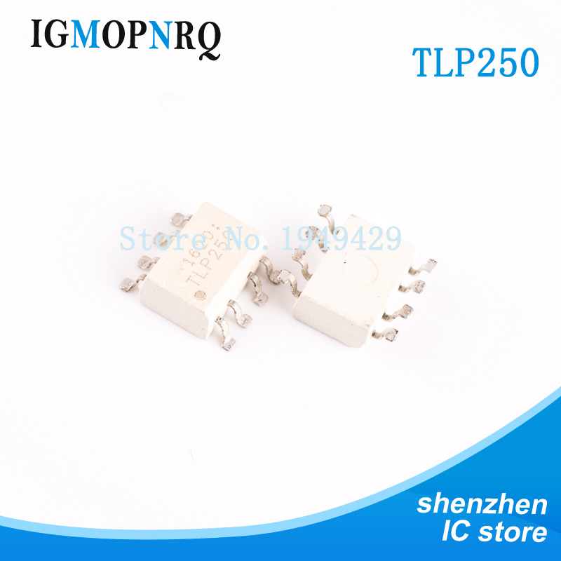 10PCS TLP250 SOP8 <font><b>P250</b></font> Logic output optocoupler 2500Vrms 0.15 High Speed New original free shipping image