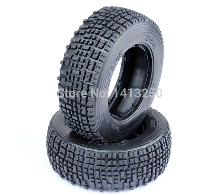 ФОТО Baja parts, 5SC Front tire Set(2pcs) ,with the inner foam