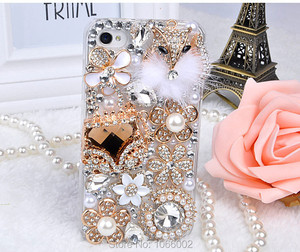 Image 5 - Luxury 3D Gold Purse Carriage Bling Crystal Cases for Samsung Galaxy S10E S9 S10 S20 Plus FE Fan Edition Note 10 Lite 20 Ultra 9