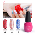 Fengshangmei 8ML Glitter Gel Nail Polish Led Uv Nail Gel Long Lasting Popular Varnish Nail Art Gel Polish