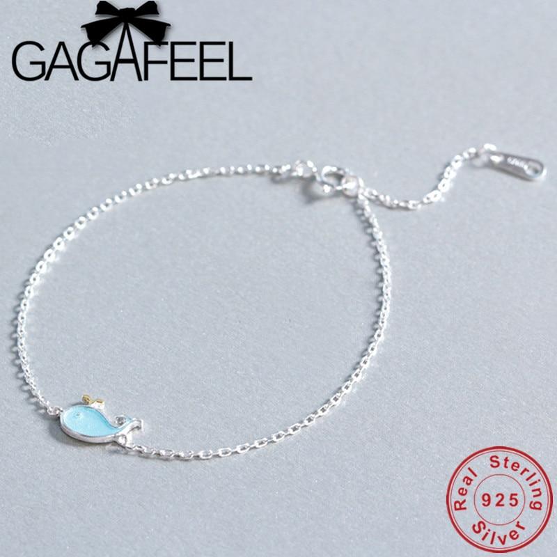 GAGAFEEL S925 Cute Blue...