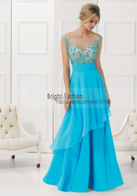 411d61c0a1b52 US $169.97 |Sexy Dress Party Evening Elegant 2016 New Design Ladies Evening  Gowns Chiffon Vestido De Festa De Casamento Online Clothing Shop-in ...