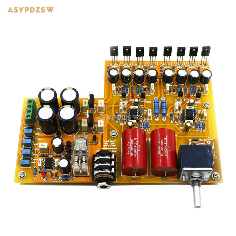 Assembled Classic reproduction HD A PRO Headphone amplifier finished board