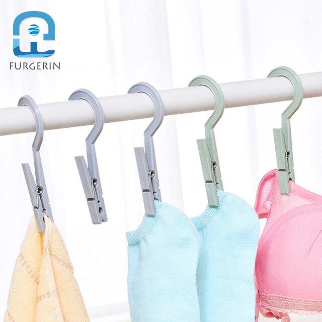 Furgerin 3pcs Lot Decorative Clothes Pegs Plastic Mini Clothespins