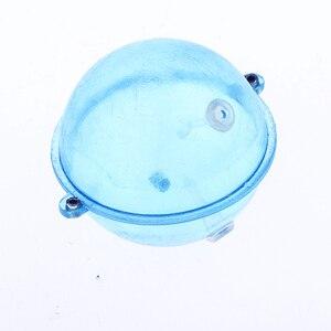 Image 5 - 5pcs Llightweight ABS 플라스틱 지우기 라운드 낚시 Bobber 수레 부표 Airlock 스트라이크 표시기 낚시 액세서리