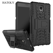 "HATOLY For Cover Lenovo P2 Case Lenovo P2 P2c72 5.5"" Armor Silicone Hard Plastic Case For Lenovo Vibe P2 with Holder Stand]"