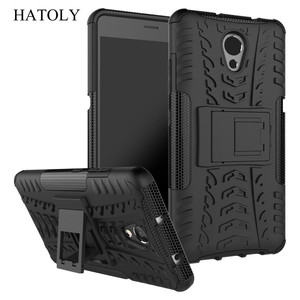 """Image 1 - Hatoly Voor Cover Lenovo P2 Case Lenovo P2 P2c72 5.5 """"Armor Silicone Hard Plastic Case Voor Lenovo Vibe P2 met Houder Stand]"""