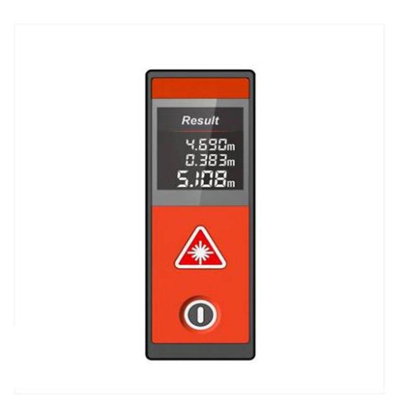 все цены на Mileseey D520 20M laser Rangefinder Laser Distance Meter mini Orange Color Laser Range Finder Measuring Tape