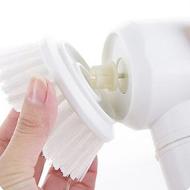 Handheld Electric Cleaning Brush for Bathroom Kitchen