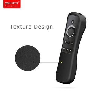 Image 3 - כיסוי עבור אמזון אש הטלוויזיה 4K מקל עם Alexa קול שלט רחוק סיליקון מקרה SIKAI