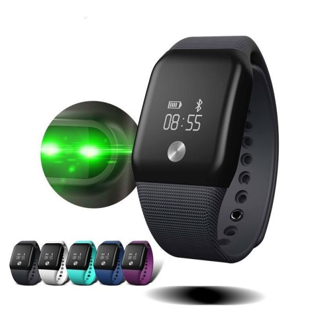 Newest A88+ Smart Wristband Heart Rate Monitor 0.66OLED Screen IP67 Waterproof Support Heart Rate Monitor for Android IOS B5