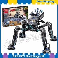 518pcs New Ninja Water Skipper Measurer Mech Robots 10717 Model Building Blocks Children Assemble Toy Brick Compatible With Lego