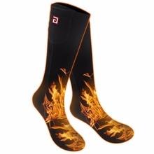 Электрические носки с подогревом для хронически холодных ног для женщин и мужчин, низкое напряжение с подогревом носки батареи