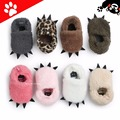 ROMIRUS Monster Paw Baby Shoes Casual Worm Slippers For Children kids Girls Boys First Walkers