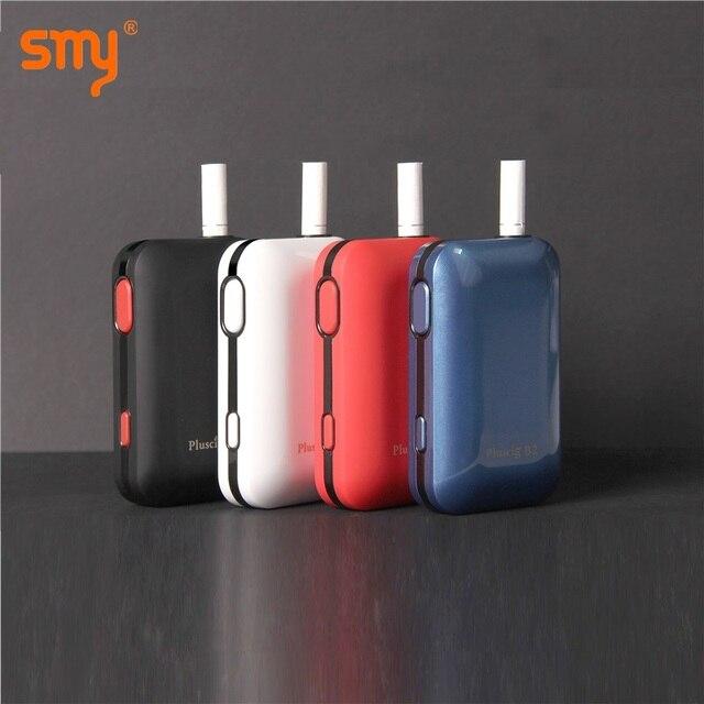 SMY Pluscig B2 2200 mAh Отопление комплект окно TCR стержни с термоклеем испаритель для 1qos сигаретного табака картридж VS KeCig 2,0 плюс KeCig 4,0