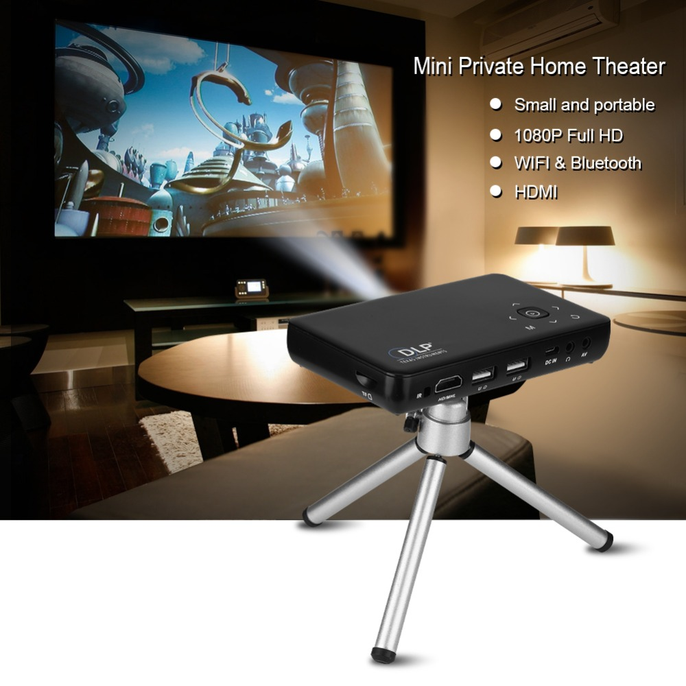 Mini Draagbare Projector Beamer Android Tv Led Full Hd 1080 P Home Theater Office School Onderwijs Bedrijf Projector Interactieve