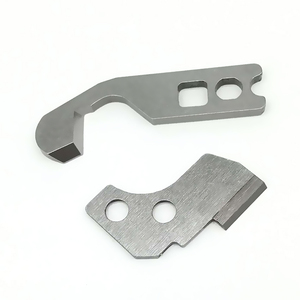 Image 1 - UPPER KNIFE AND LOWER KNIFE #788013009 + 788011007 FOR JANOME NEWHOME SERGER 204D, 504D, 534DR