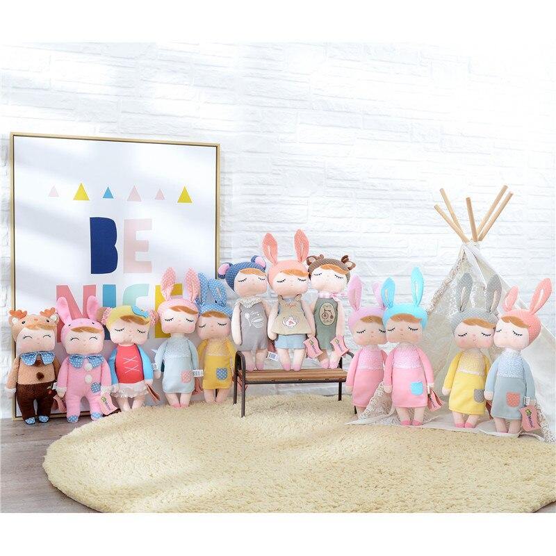 METOO Angela Peluche Bambole ufficiale Usura Della Ragazza Skit Giocattoli Regalo per I Bambini Bambini Giocattoli di Peluche per I Regali di 12*4