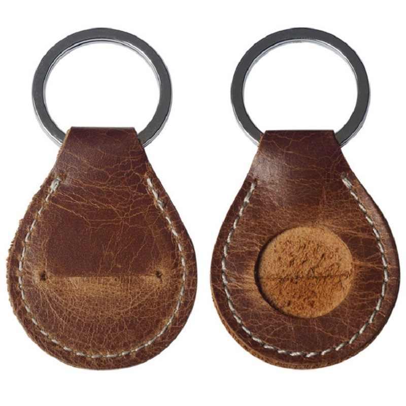 صغيرة واحدة محفظة للعملة جلد واحد عملة مفتاح حلقة تغيير جيب جلد البقر مصغرة الأصالة مفتاح مشبك الحقيبة بالجملة رخيصة