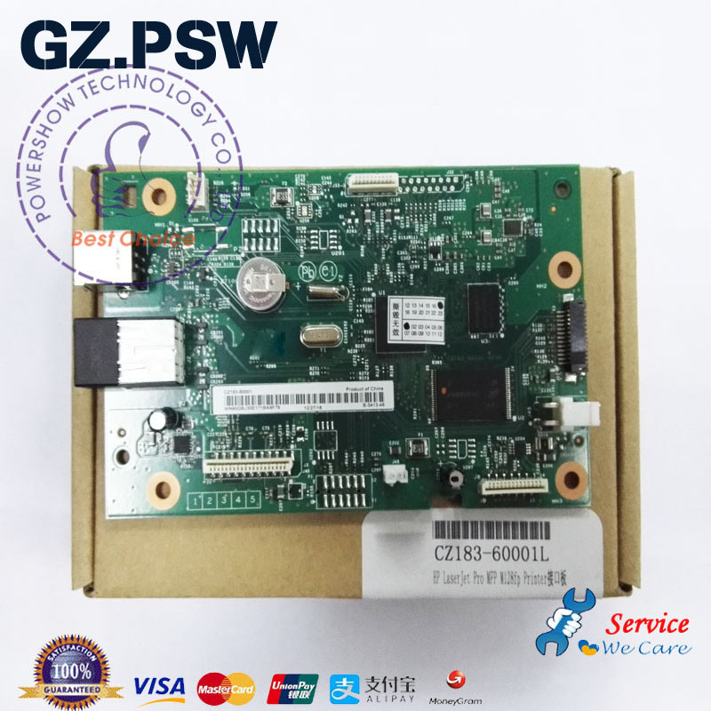 Original Formatter Board Mainboard PCA Board CZ181 60001 CZ183 60001 For HP M127FN M127FP HP127FN 127FP 127FW M127FW-in Parts & Accessories from Computer & Office    1