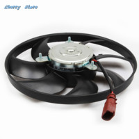 NEW 3C0 959 455 G Radiator Cooling Fan Assembly For VW Rabbit Jetta Golf GTI Passat B6 1K0959455DH 100 236 0050 Rated Power 200W