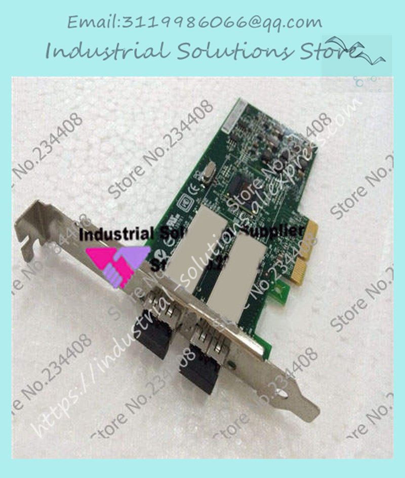 41V2561 9402PF-LX dual card 1310nm 82571GB single-mode fiber 100% tested perfect quality41V2561 9402PF-LX dual card 1310nm 82571GB single-mode fiber 100% tested perfect quality