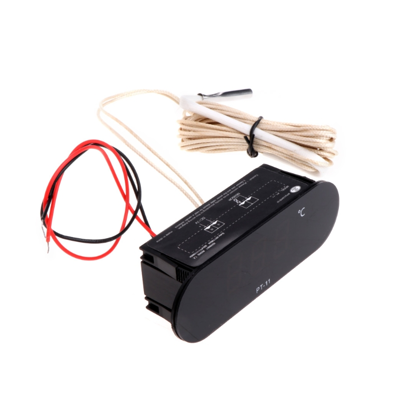-20~300 Centigrade PT-11 Digital Thermometer Temperature Meter Indicator w/ 2M NTC Sensor W315